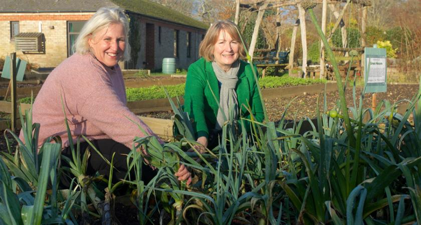 Countryside Education Trust gardening